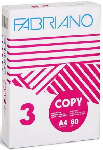 ΧΑΡΤΙ FABRIANO Α4 - ΛΕΥΚΟ - 80gr - 500 ΦΥΛΛΑ